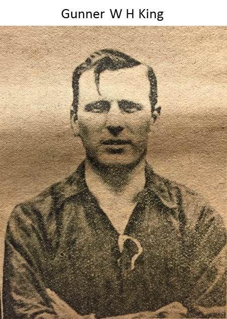 Gunner WH King_1914