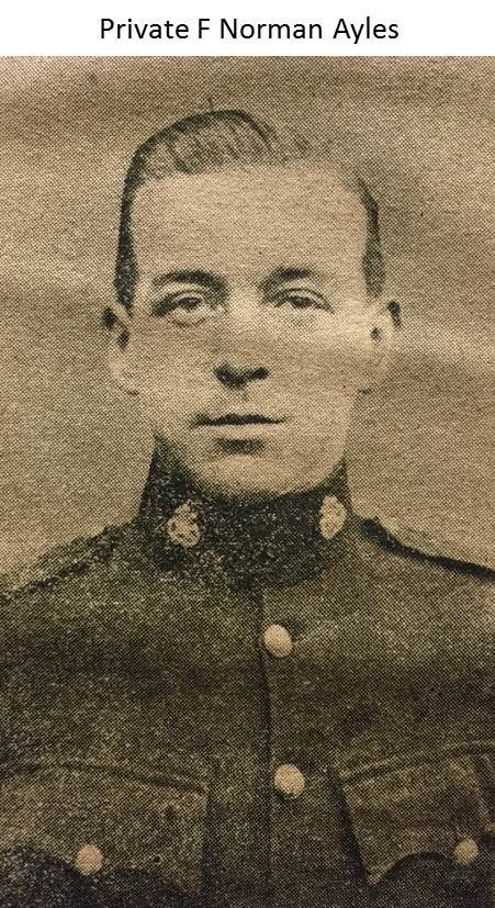 Private Frederick Norman Ayles