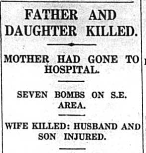 Father and Daughter killed