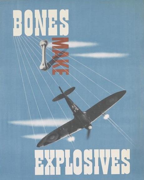 Bones Make Explosives advert