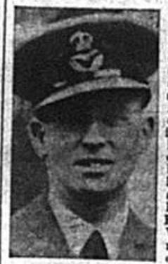 Flying Officer Eric Charles Whitehead, 1941