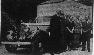 Canteen Truck donation to Bromley Fire Service, 1941