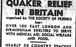 Quaker Relief in Britain