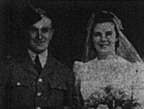 Wedding of LAC Harold Lidster and Margaret Fitch as reported in the Bromley Times in 1941
