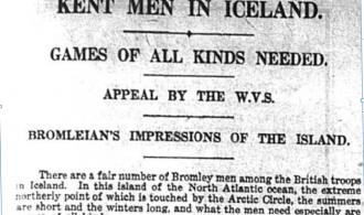 Kent men in Iceland appeal for more games