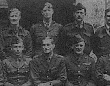 Members from the Royal West Kent Regiment who were prisoners of war in Germany in 1941
