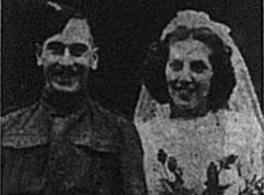Rifleman Robert Leo Rockall: Wedding