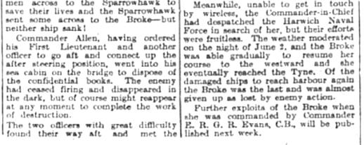 History of a famous war ship, Brooke