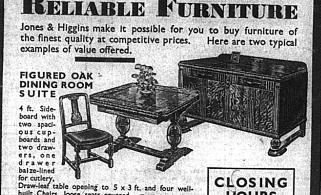 Jones & Higgins: Reliable Furniture