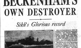 Beckenham's Own War Ship