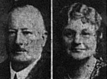 Portait of Mr and Mrs Charles Gunton of Bromley