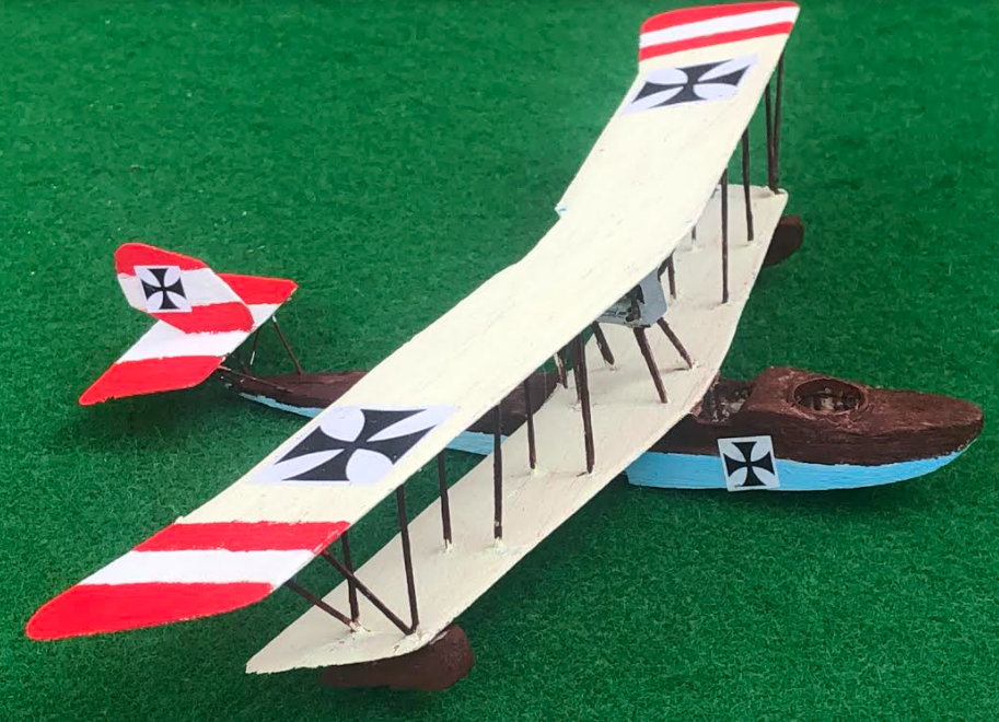 model of the Lohner L aircraft ww1