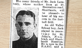 Old Valley Boy Plays for Scottish Command