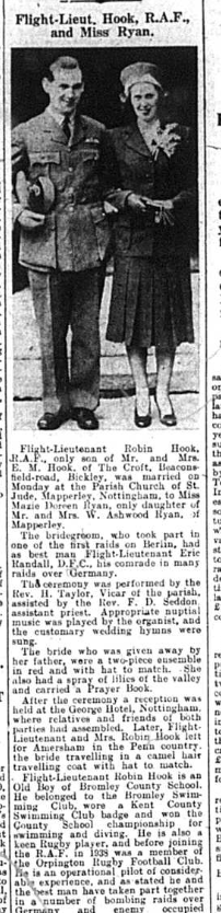 Wedding photo and article for Hook and Ryan