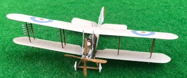 Model of the Royal Aircraft Factory BE2