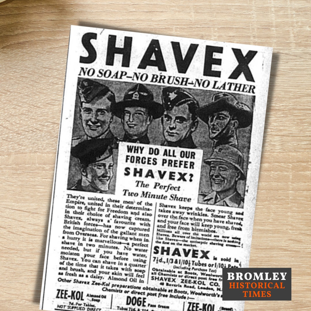 Advert for Shavex