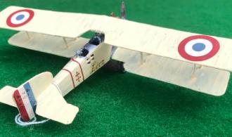 Bréguet 14 BR scale model French aircraft