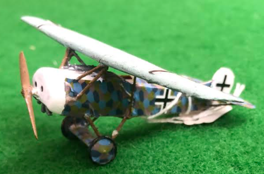 Scale Model fo teh Fokker E.V - D.V111 aicraft