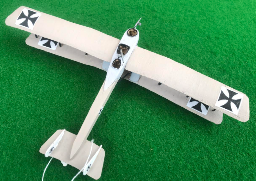 Scale Model of the GOTHA GI Aircraft