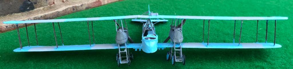 Gotha GV heavy bomber scale model aircraft