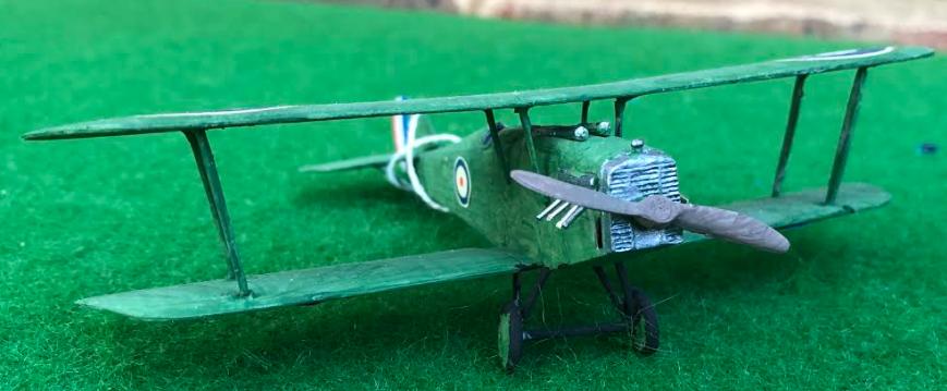MARTINSYDE F. 3 / F.4 Buzzard scale model aircraft