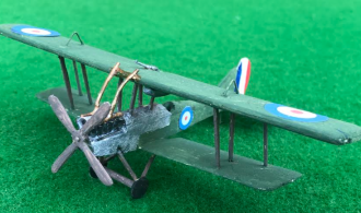 scale model aircraft of the Royal Aircraft Factory BE12_12a_and_12b