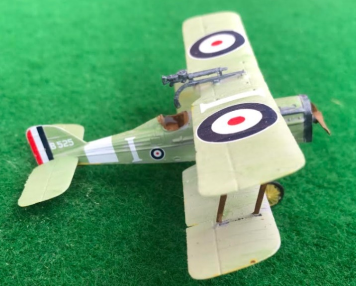 scale model of the ROYAL AIRCRAFT FACTORY SE 5A