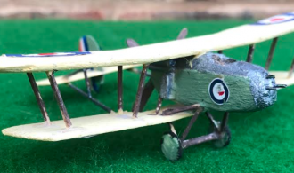 VICKERS F.B.26 VAMPIRE scale model aircraft