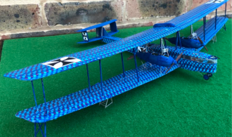 Zeppelin-Staaken RV scale model aircraft
