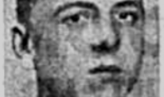 Acting Leading Seaman WJ Bennett missing in action during world war two