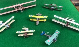 WEEK 8  –  SELECTION OF ITALIAN AIRCRAFT
